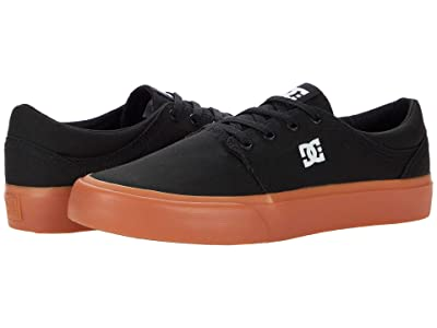 DC Trase TX (Black/Gum) Skate Shoes