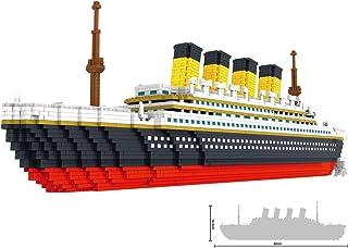 [New Design]Large Titanic Model Building Block Set - 3800+pcs Nano Mini Blocks DIY Toys