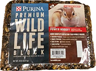 purina wildlife block
