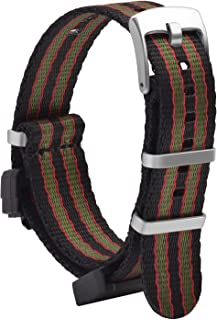 OLLREAR Nylon Watch Strap Replacement Compatible with G-8900 GA-100HP GD-100H Series DW-5600 GW-M5610 DW6900
