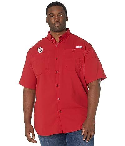 Columbia College Big Tall Oklahoma Sooners Tamiami Short Sleeve Shirt