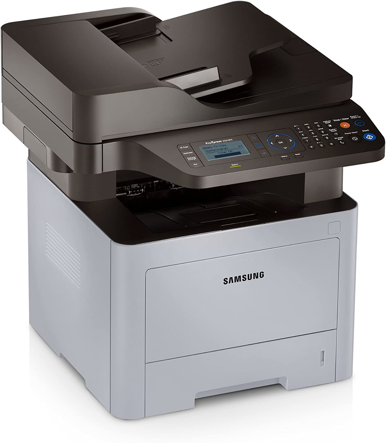 Samsung Multifunction ProXpress SL-M3370FD Monochrome Printer with Scanner, Copier and Fax
