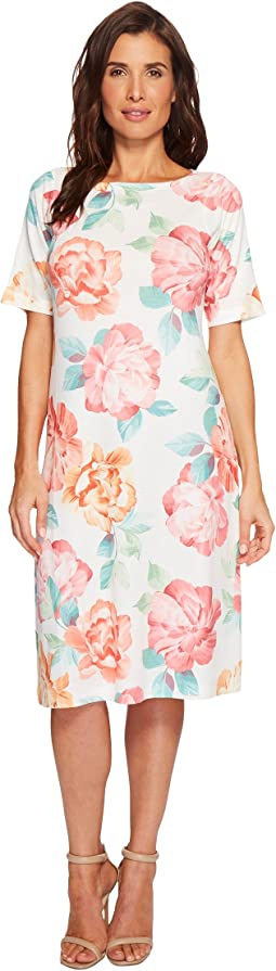 Nally & Millie - Big Floral Print Dress