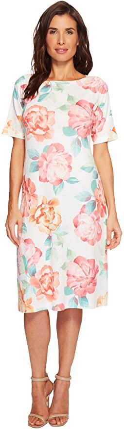 Nally & Millie Big Floral Print Dress