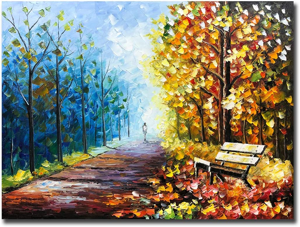 V-inspire Max 61% OFF Art 30x40 Inch Modern Hand Acrylic O shop Painted Paintings