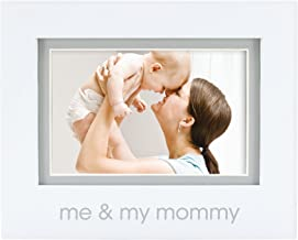 Pearhead Me and My Mommy Photo Frame, White