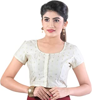 4d8ce17967ba59 Amazon.in: Whites - Blouses / Ethnic Wear: Clothing & Accessories