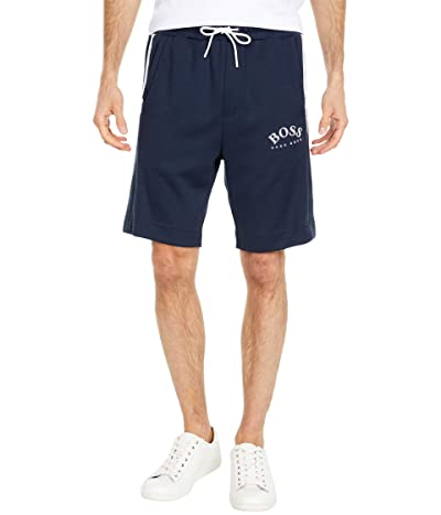 BOSS Hugo Boss Headlo Slim-Fit Jersey Shorts (Navy) Men