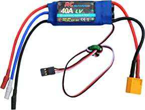 40A RC Brushless Motor Electric Speed Controller ESC 3A UBEC with XT60 & 3.5mm bullet plugs