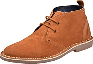 HOCHSTE Mens Desert Boots Lace up Suede Leather Hunt Chukka UK Size 6-12
