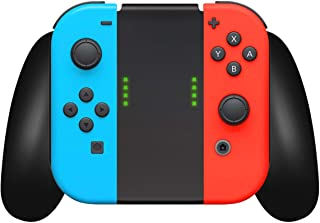 Nintendo Switch Controller Joycon Comfort Grip by TalkWorks | Switch Game Accessories Handheld Joystick Remote Control Hol...