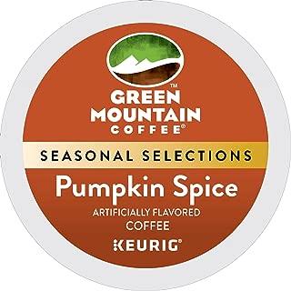 Green Mountain Coffee Roasters Pumpkin Spice, Single Serve Coffee K-Cup Pod, Flavored Coffee, 24