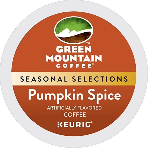 Green Mountain Coffee Roasters Pumpkin Spice Single Serve Coffee K Cup Pod Flavored Coffee 24