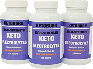 Keto Burn Electrolytes Suplemento De Electrolitos Keto Para La Dieta Cetogénica Con Sodio Potasio Calcio Magnesio