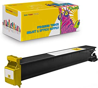 New York TonerTM New Compatible 1 Pack TN213Y TN214Y TN314Y High Yield Toner for Konica-Minolta : BizHub C200 | C203 | C253 | C353. --Yellow