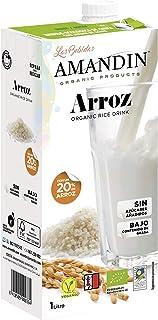 Amandin Bebida de Arroz Ecológica 20%, Paquete 6 x 1000 ml