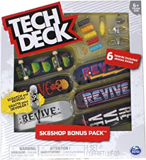 Mini Fingerboards Revive Skateboards Sk8shop Bonus Pack with 6 Decks