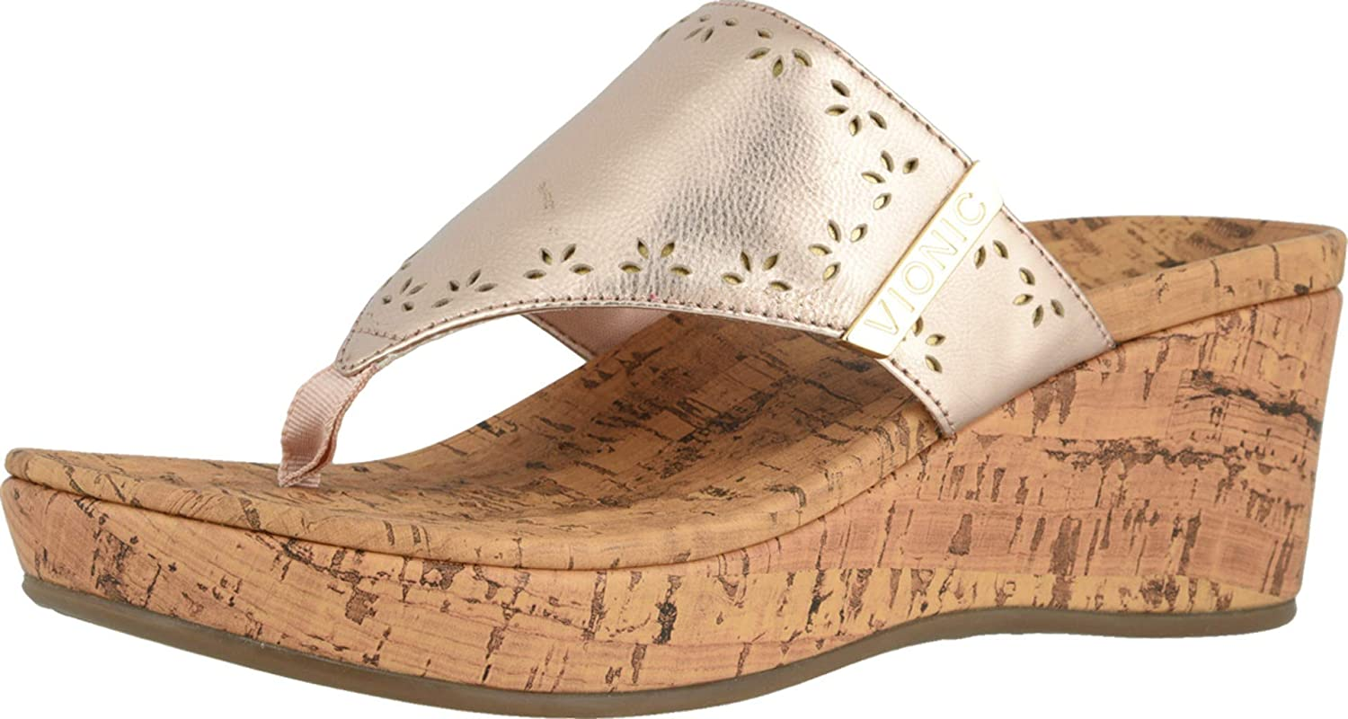 Vionic Women's Anitra 55% OFF Wedge Sandals All items free shipping Sandal Platform wi -Toe-Post