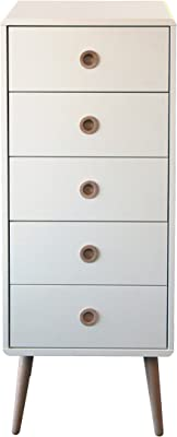 Steens 3600050050000f Soft Line 5 Drawer Chest White Amazon Co Uk Kitchen Home