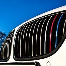 58 tlg BLACKSHELL Emblem Aufkleber Set f/ür alle Embleme am Auto in 3D Carbon Rot