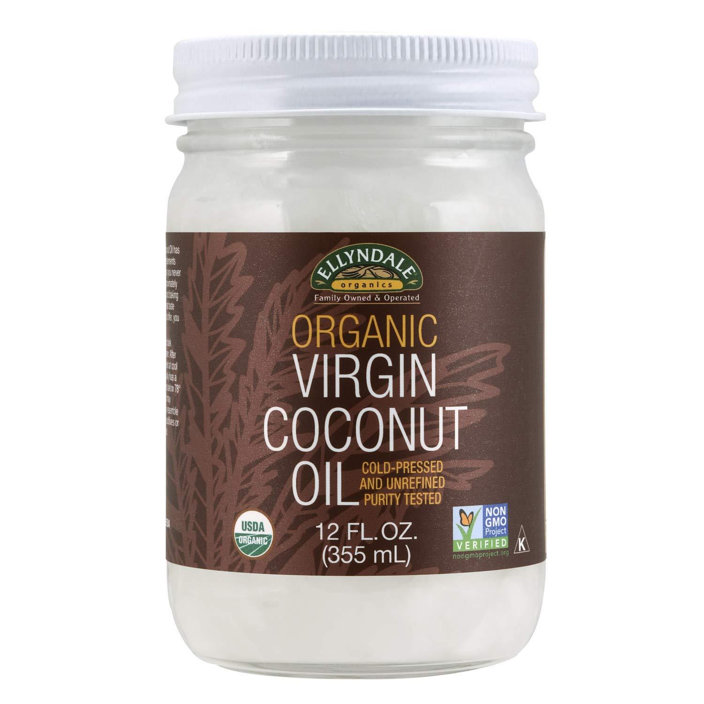 NOW Foods, Certified Organic Virgin Coconut Oil in a Glass Jar,