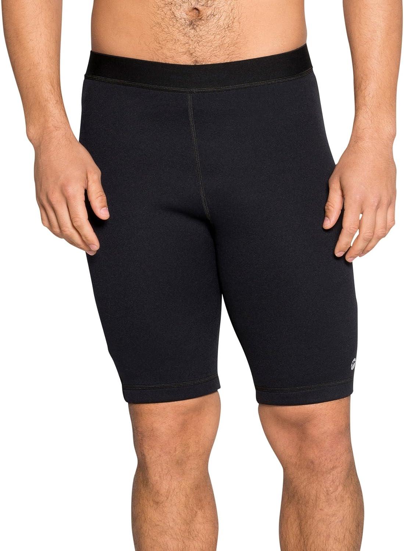 Delfin Spa Product Max 42% OFF Men's Heat Maximizing Gym Compression Neoprene Shorts