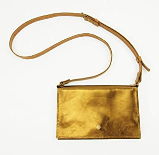 Festival Leather Belt Bag Converts to Cross Body Purse