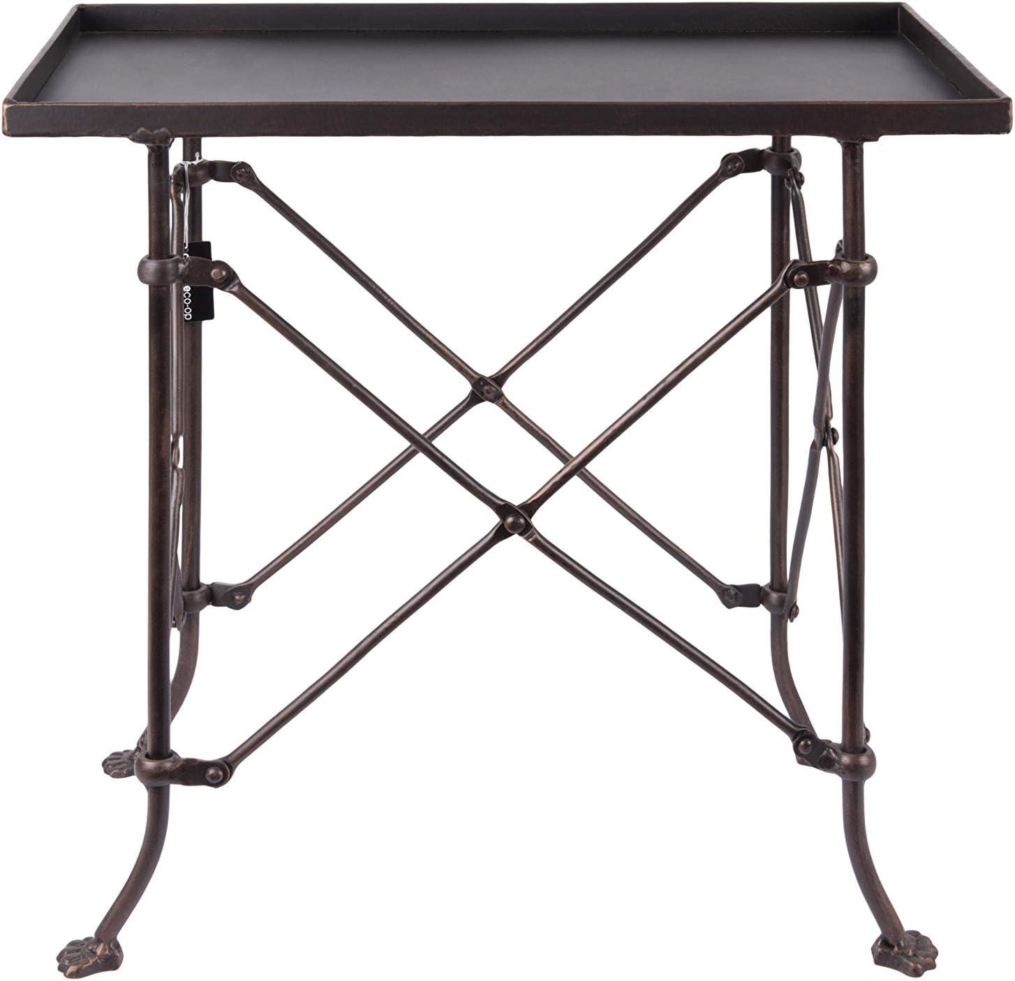 Creative Co-op Bronze Metal Classic Table DA0124 20