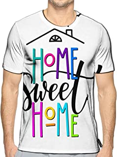 Randell 3D Printed T-Shirts Watercolor Sweet Donuts Glazed Cream Chocolate and Sprinklin