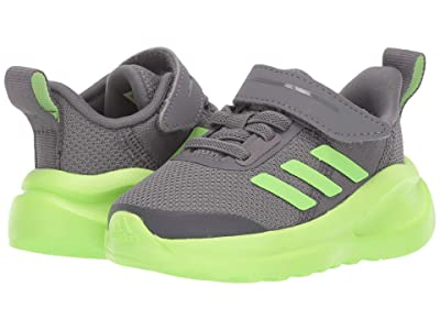 adidas Kids FortaRun EL (Toddler) (Grey Four/Signal Green/Footwear White) Boys Shoes