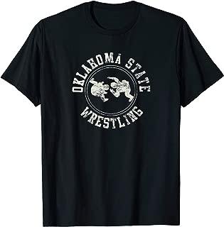 Vintage Oklahoma State Wrestling Logo Shirt