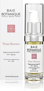 Anti-Aging Facial Oil 15ml - Rose Absolute, Camelia, Borage, Evening Primrose, Abyssinian & Amla Oil - 100% Natural, 90% Organic