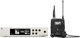 Sennheiser Pro Audio Sennheiser EW 100-ME4 Wireless Cardioid Lavalier Microphone System - A1 Band (470-516Mhz), 100 G4-ME4-A1