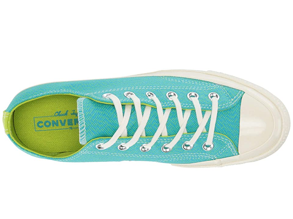 Converse Chuck 70 - Ox (Gnarly Blue/Bold Lime/Egret) Women's Shoes