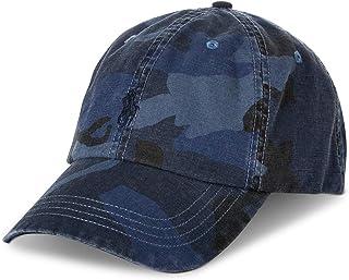 قبعة البيسبول Polo Ralph Lauren Men's Camo Canvas