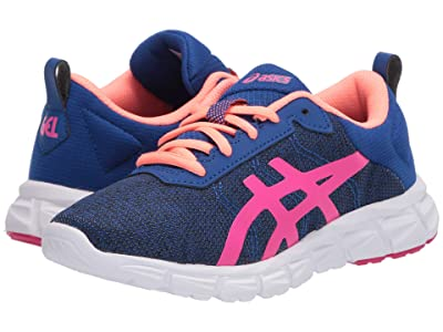 ASICS Kids Gel-Quantum Lyte (Toddler/Little Kid/Big Kid) (Asics Blue/Pink Glow) Girls Shoes