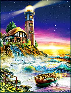 Jigsaw Puzzles for Adults 1000 Piece - Watch Lighthouse Intellectual Game for Adults and Kids