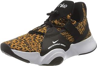 Nike Women's Superrep Groove Running Shoe, White/Black-Chutney