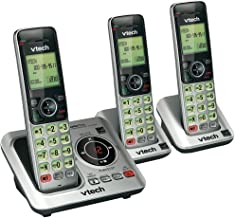VTEVTCS66293 - VTECH VTCS6629-3 DECT 6.0 Expandable Speakerphone with Caller ID (3-Handset System) photo