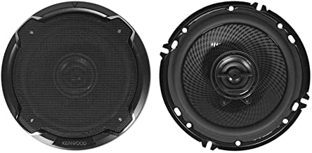 $79 » Kenwood KFC-1695PS 6.5 Inch 2 Way Car Speakers with 320 Watts Peak Power (Pair)