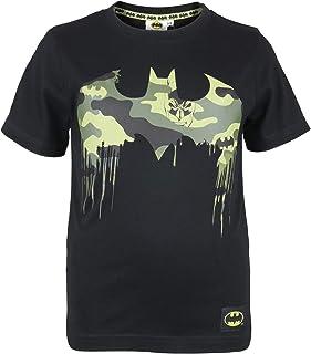 DC Comics Batman Camo Logo Camiseta de los Muchachos  mercancía Oficial