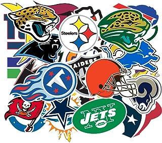 ملصق كرة القدم، ملصقات فينيل الدوري الوطني لكرة القدم (32 قطعة) للأطفال، السيارات، الدراجات النارية، الدراجات، الأمتعة، ال...