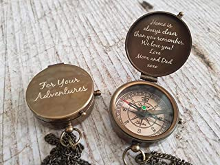 compass / working compass / engraved compass