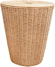 XinQing-Storage basket Rattan Dirty Clothes Storage Basket Paper Rope Woven Household Hamper Basket Nordic Simple Bedroom ...