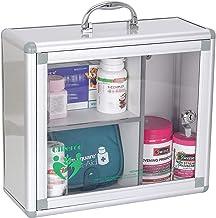 صندوق أدوية محمول من اوليرو مزود بمقبض للإسعافات الأولية للحوائط خزانة صندوق لتنظيم الصندوق