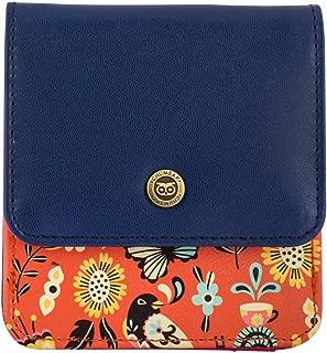 Chumbak Garden Tea Party Pocket Wallet- Orange