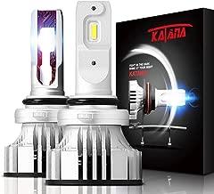 KATANA 9006 HB4 LED Headlight Bulbs,CREE Chips 12000Lm 6500K Extremely Bright Conversion Kit,360 Degree Adjustable Beam Angle