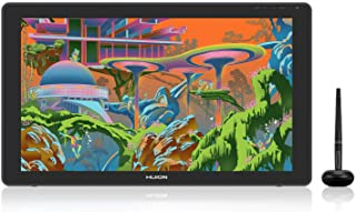 HUION Drawing Tablet KAMVAS 22 Pen Display Drawing Monitor with Battery-Free Stylus and 8192 Pen Pressure with Adjustable ...