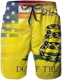 American Flag Gadsden Flag Men's Water Sports Beach Shorts