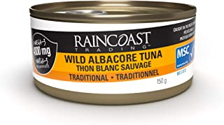 Raincoast Trading Solid White Albacore Tuna (Pack of 12), 5.29 Ounce (Pack of 12)